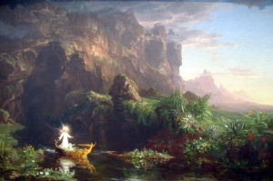 Thomas Cole - The Voyage of Life - Childhood