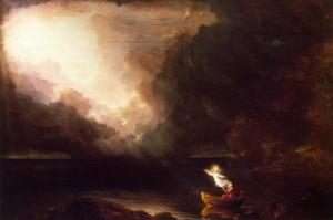 Thomas Cole - The Voyage of Life - Old Age