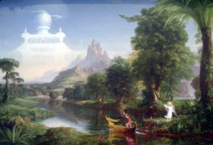 Thomas Cole - The Voyage of Life - Youth