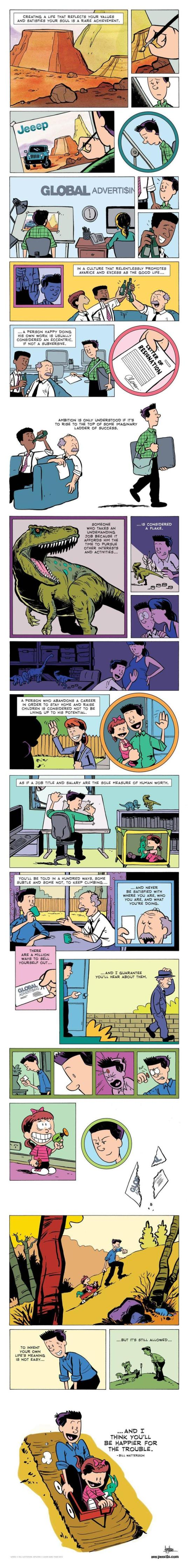 Bill Watterson cartoon