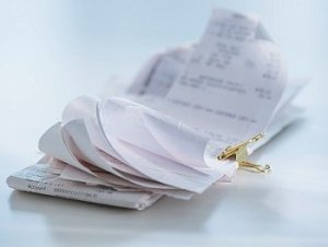 File photo of Receipts