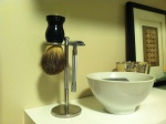 Old School Shaving