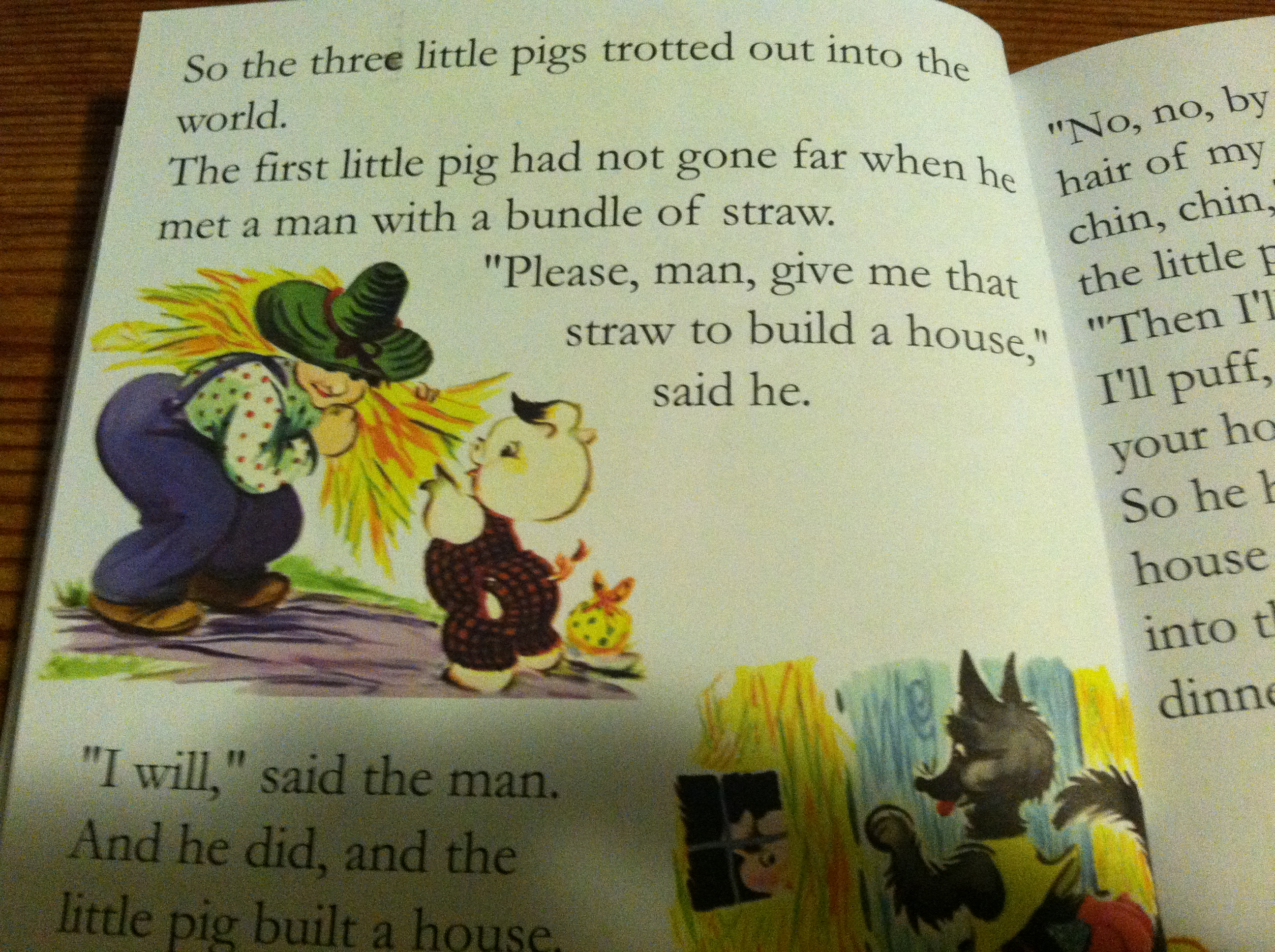 The Three Little Pigs  thedorkydaddy