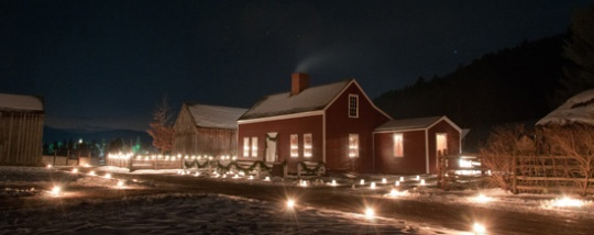 Candlelight Evening in Cooperstown, NY. (Courtesy of The Farmers' Museum)
