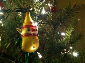 Macys Elf on Tree