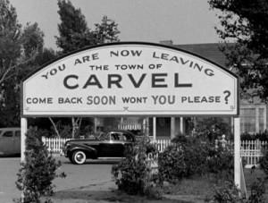 Leaving Carvel