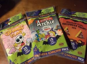 Halloween Comics 2015
