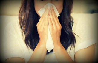 sneezing tissue