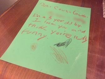 Gus Letter