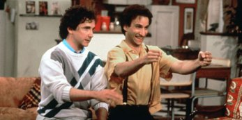larry teaches balki to drive