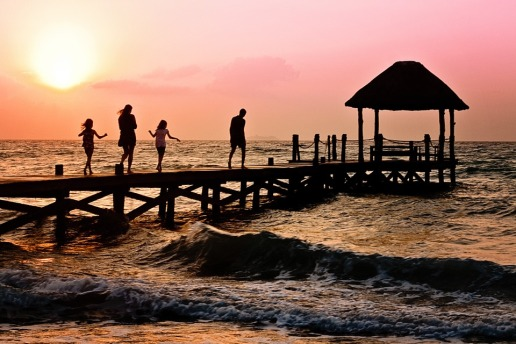 walk on the pier