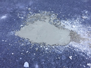 June 28, 2019 - Driveway chipmunk problem 07