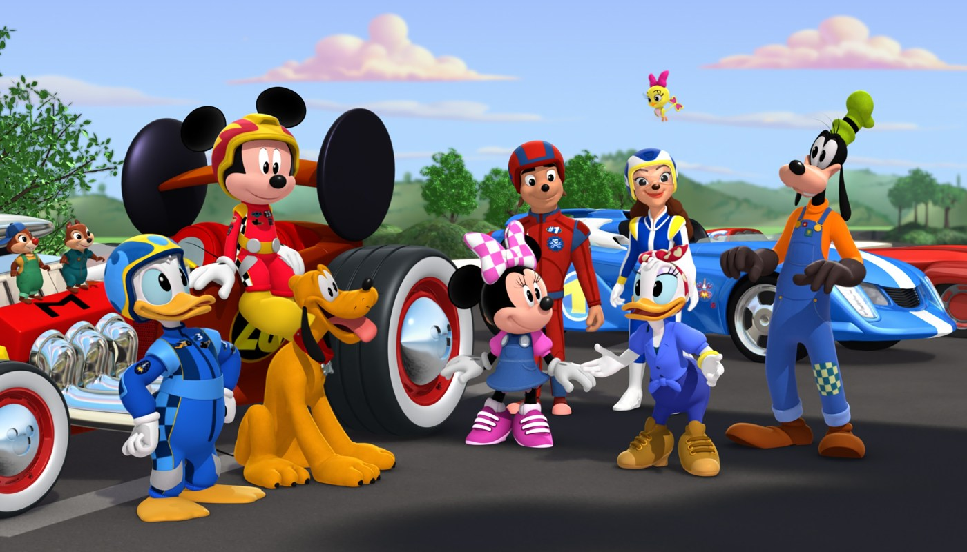 CHIP, DALE, DONALD, MICKEY, PLUTO, MINNIE, JIMINY JOHNSON, DANNI SUE, DAISY, CUCKOO LOCA, GOOFY